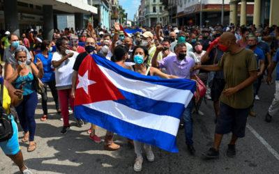 El pueblo cubano ha descubierto que es posible vencer el miedo y que no están solos